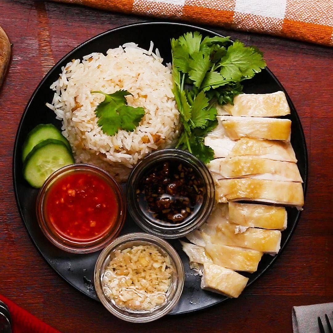 Hainanese Chicken Rice Cooking Tv Recipes Recipe Chicken Rice Recipes Hainanese Chicken Rice Recipe Hainanese Chicken