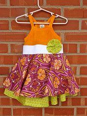 The Layered Twirly Dress Tutorial