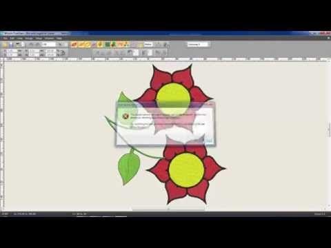 Convertendo matrizes de bordados facilmente - YouTube  a3ad611ca4b
