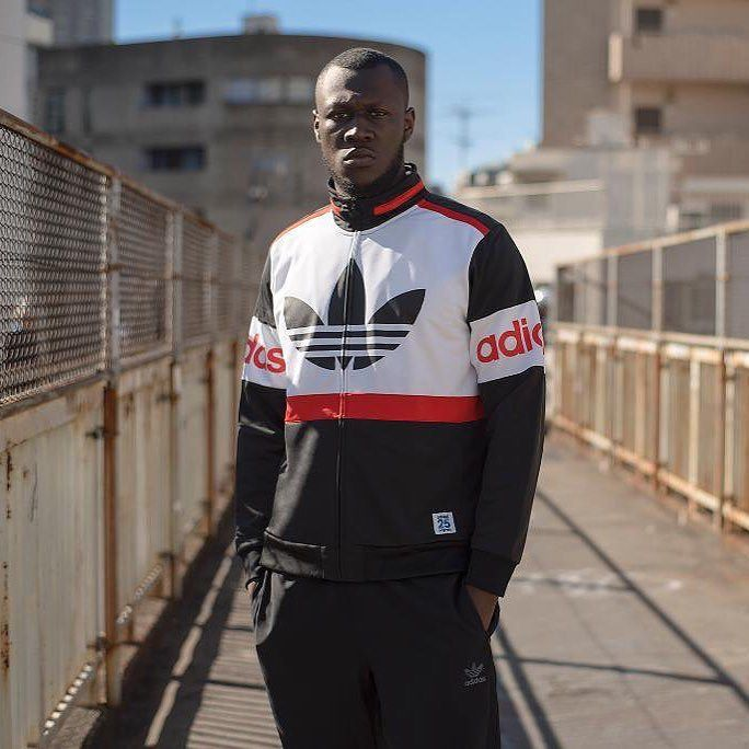 UK rapper Stormzy stars in the lookbook for the latest