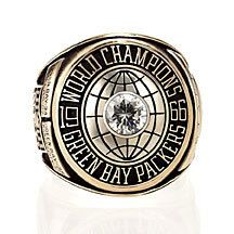 1966 Green Bay Packers Super Bowl Championship Ring    NO.:792011206 Size:  Shop price:$169