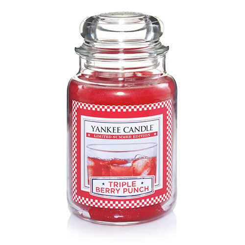 Triple Berry Punch Large Jar Candles Yankee Candle Berry
