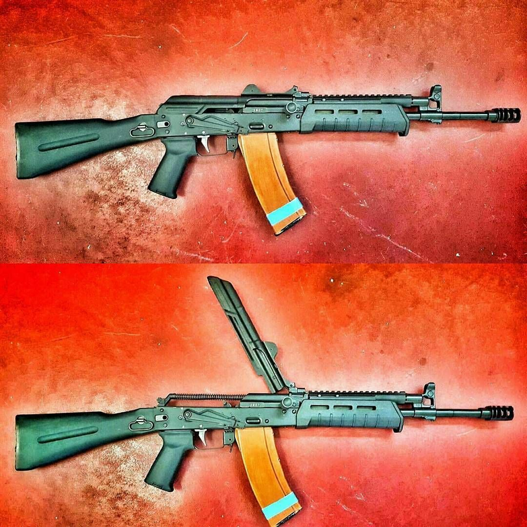 From @m13industries - A Arsenal rifle i did some customizing