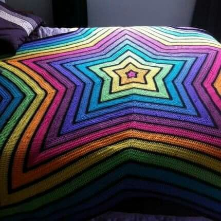 Chromium Star Blanket Crochet Blanket Patterns Crochet