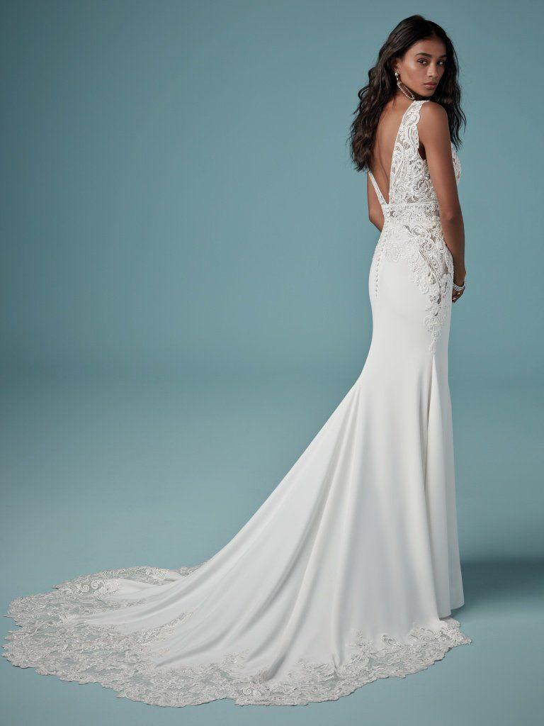 Aidan By Maggie Sottero Wedding Dresses V Neck Wedding Dress