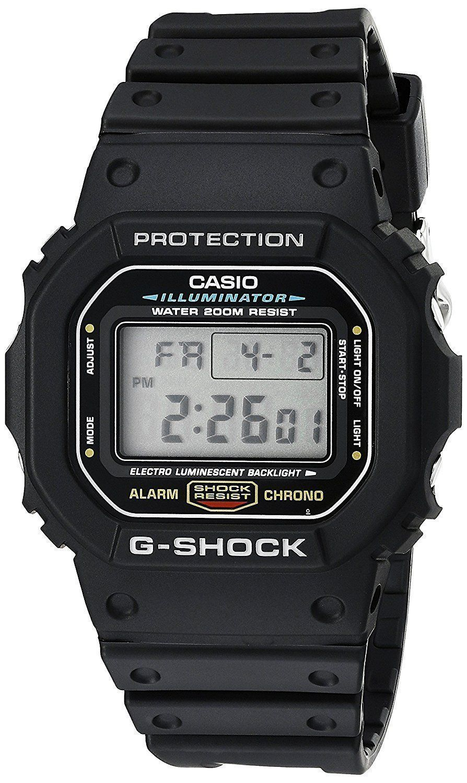 Casio DW5600E-1V G-SHOCK Mens Black Classic Digital Shock Resistant Sports Watch Item specifics Condition: New with… | Relogios. Relógio casio ...