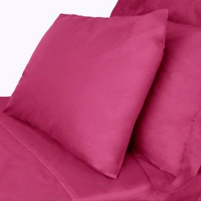 Home Collection Pink cotton rich percale bed linen- at Debenhams.com