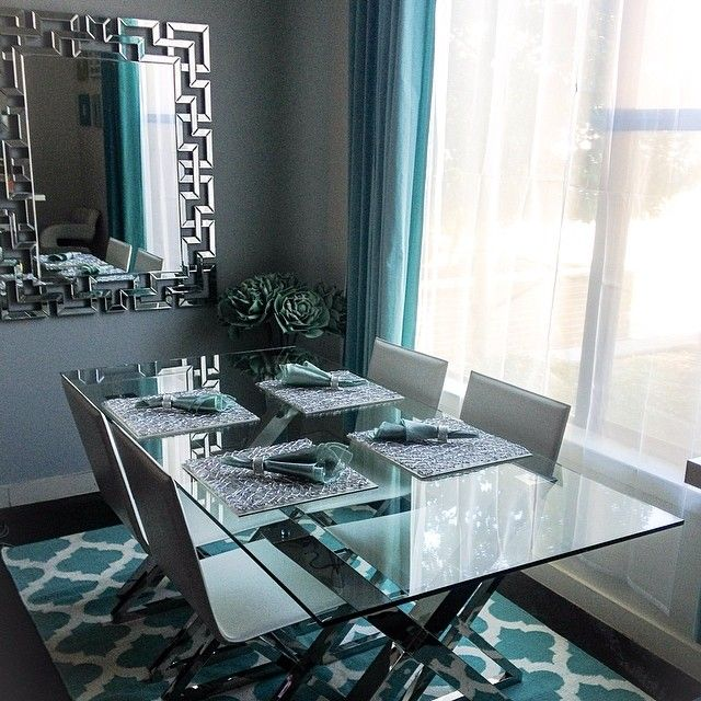 Thalyandrea S Dining Room Is 100 Zgallerie Features Our