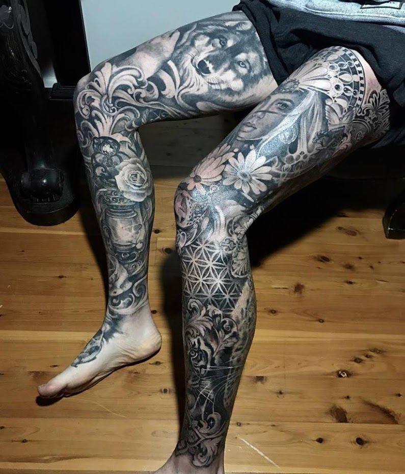 Sign In Full Leg Tattoos Leg Sleeve Tattoo Leg Tattoo Men