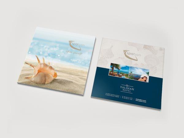 Examples Of Spa Brochure Design  Editorao Ideias