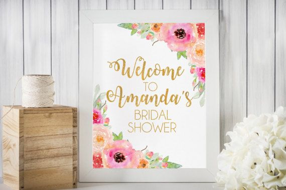 Hey, I found this really awesome Etsy listing at https://www.etsy.com/listing/496300084/welcome-bridal-shower-sign-bridal-shower