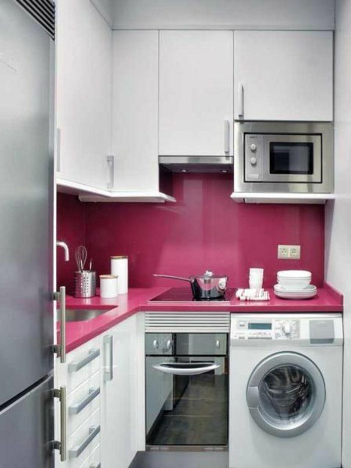 comment am nager une petite cuisine id es en photos. Black Bedroom Furniture Sets. Home Design Ideas