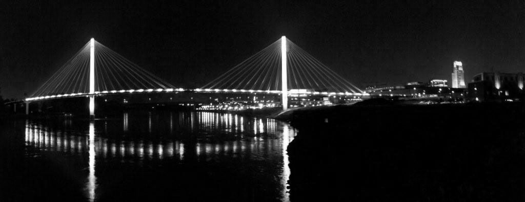 bob kerrey pedestrian bridge | Bob Kerrey Pedestrian Bridge, Omaha, NE. | Delongs, Inc.