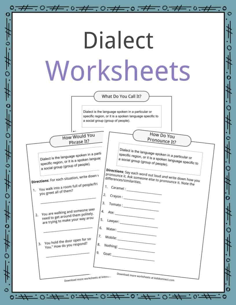 Image result for dialect worksheet Reading worksheets