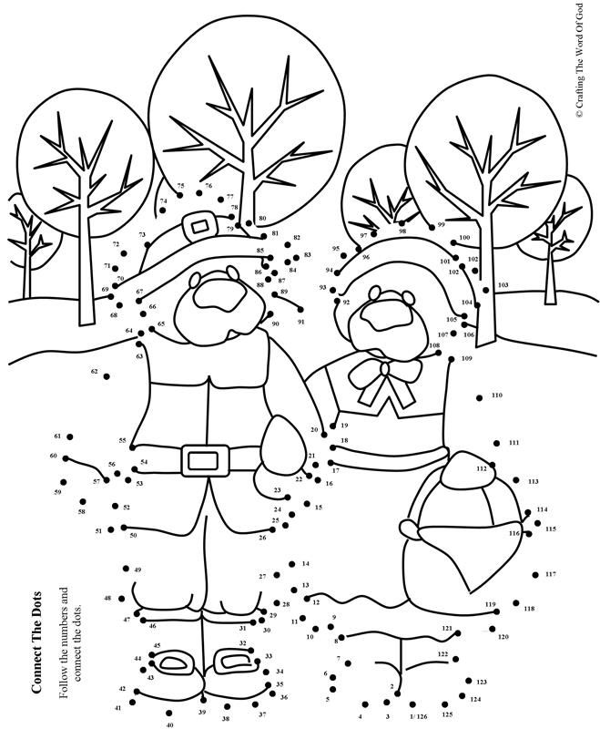 Thanksgiving Connect The Dots 1 (Activity Sheet) Activity