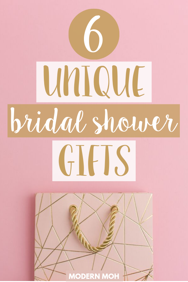 6 Unique Bridal Shower Gifts That Aren't on the Couple's