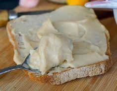 Le beurre de pommes (végane) -