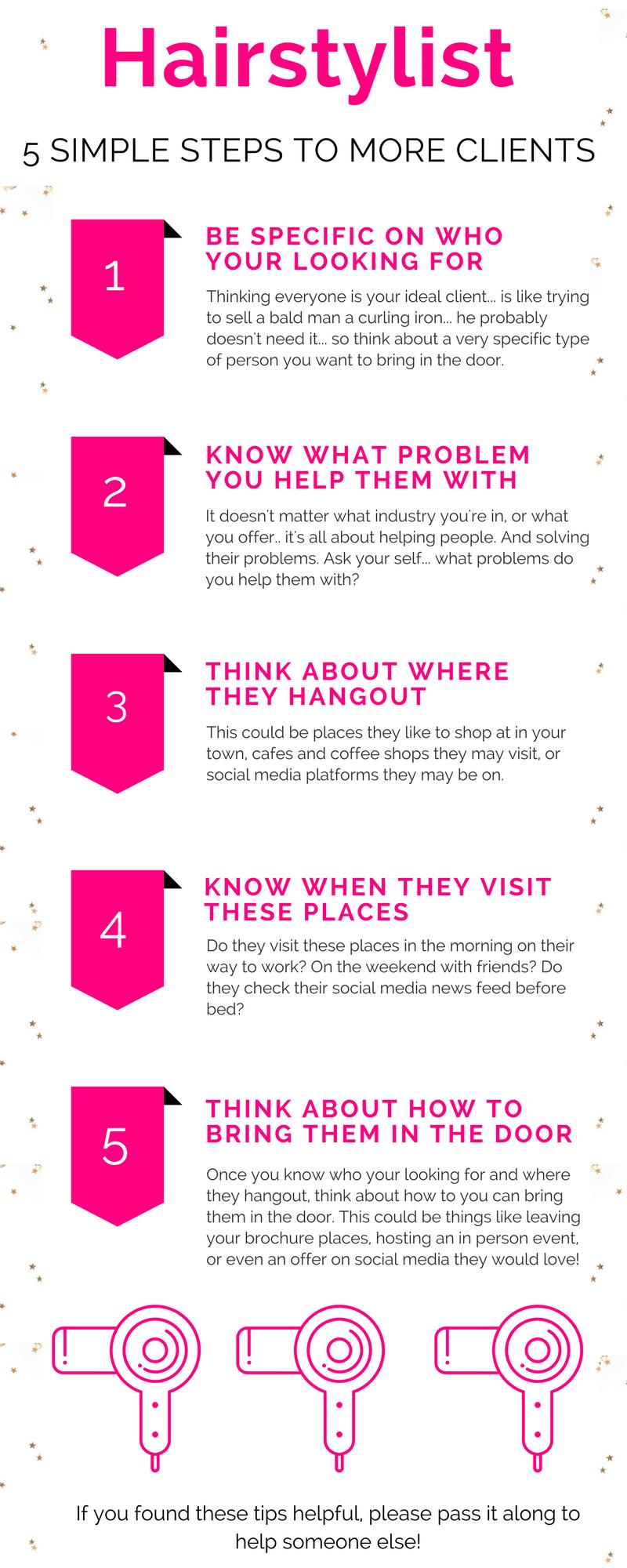 Hairstylist and Salon Marketing ideas for social media  Salon