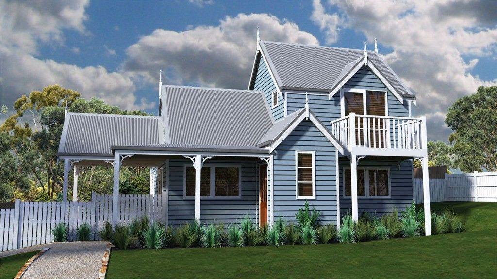 Wallace Cottage Cottage Design Kit Homes Australia Cottage House Designs