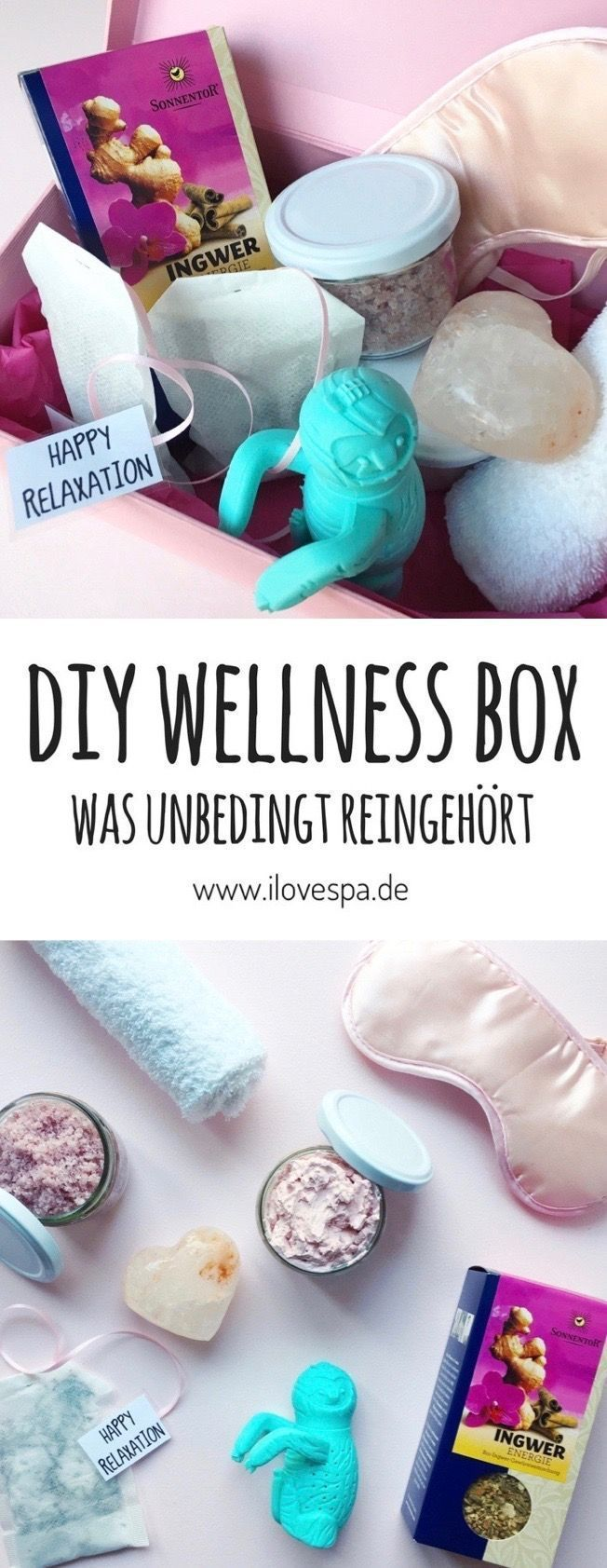 DIY Wellness Box - das perfekte Wellness Geschenk selber machen ...