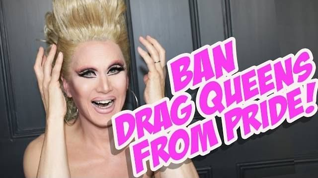 Ban Drag Queens from Pride?! Charlie Speaks... and I say Amen. https://www.youtube.com/watch?v=6OTTCdKTBaQ&feature=em-uploademail