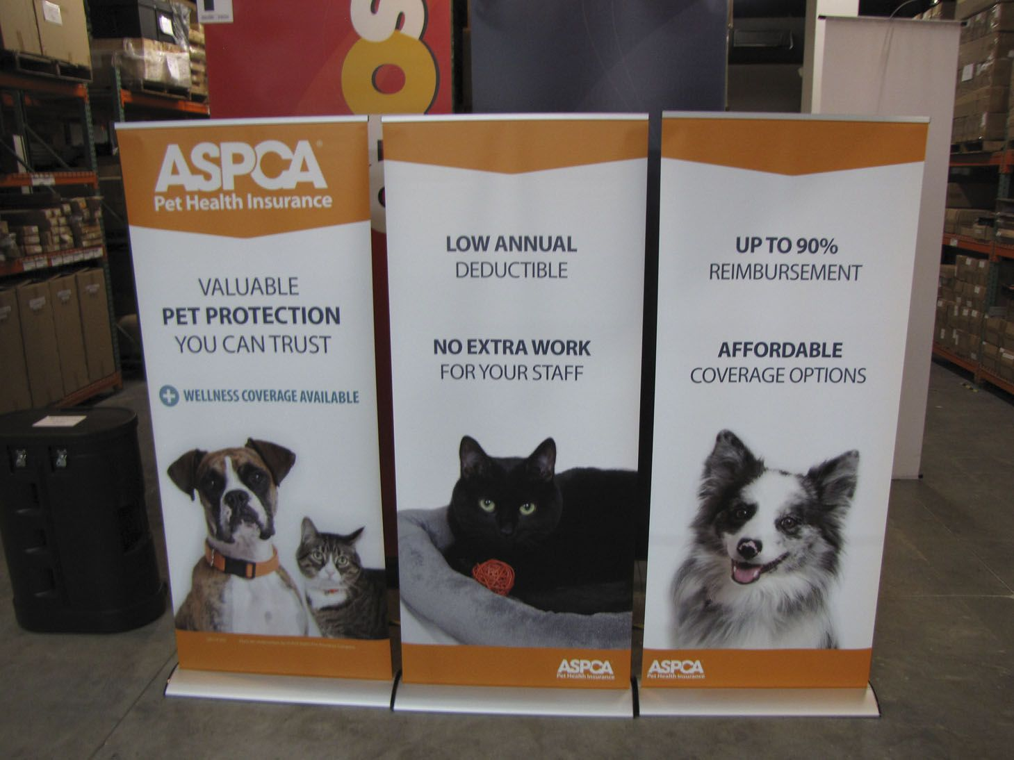 Aspca Pet Health Insurance 10ft Banner Backwall Pet Health