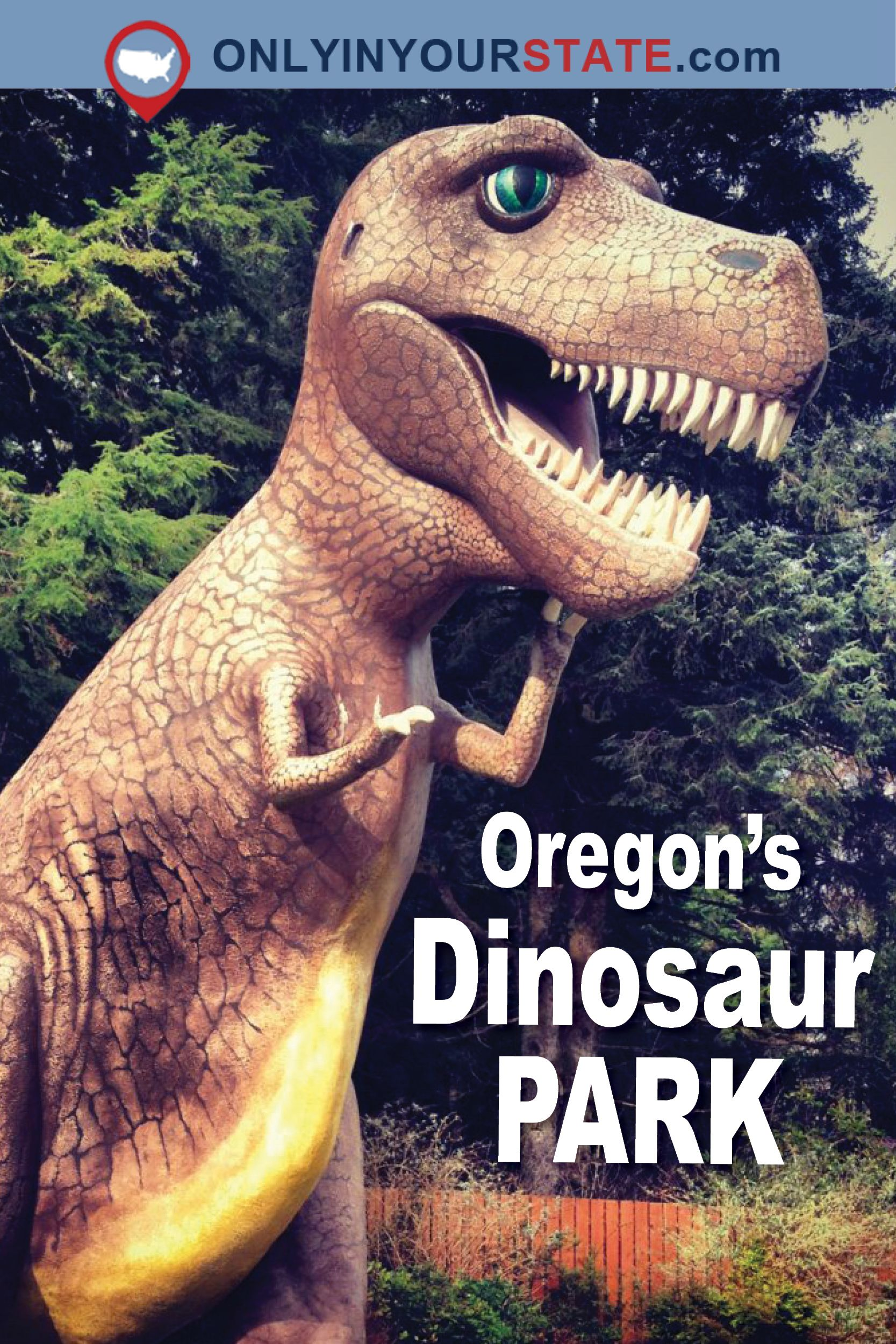 Travel | Oregon | Attractions | Sites | Unique | Activities | Explore | Things To Do | Dinosaur | Dinosaur Park | Family Friendly | Roadside Attractions #traveloregon