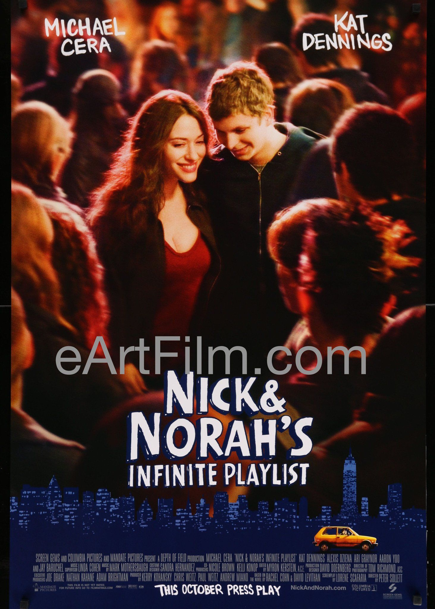 Nick and Norah\'s Infinite Playlist-2008-27x40-Michael Cera-Kat Dennings