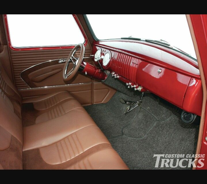 50 Model Chevy Trucks Interior Classic Gmc Chevy Trks