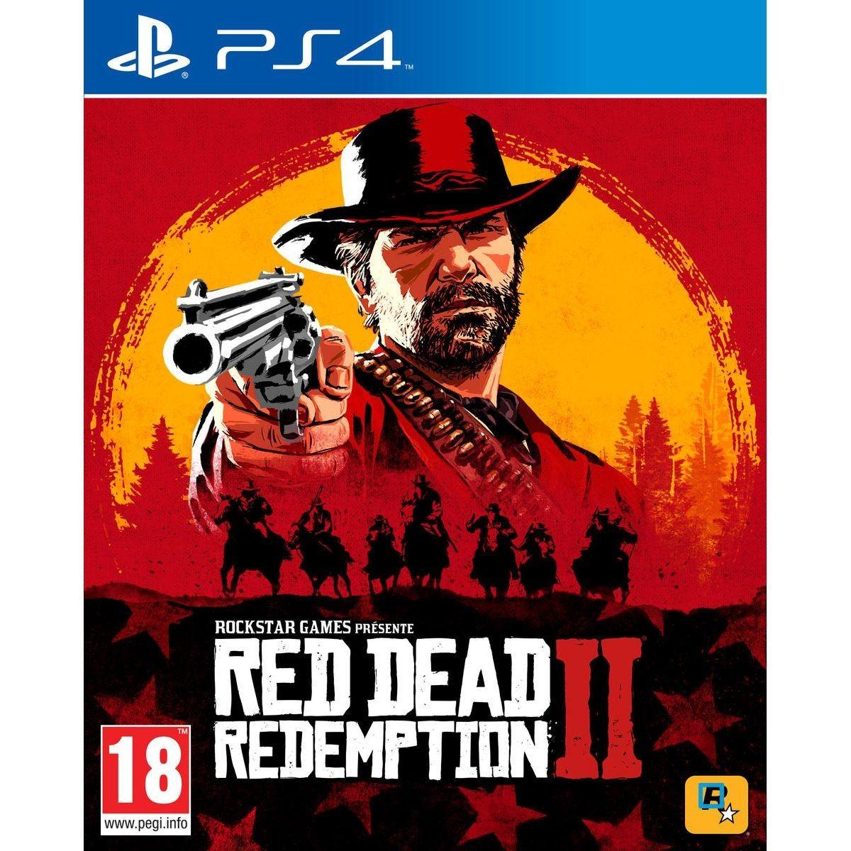 Red Dead Redemption 2 Ps4 Products Ps4 Jeux Ps4 Et Red Dead Redemption