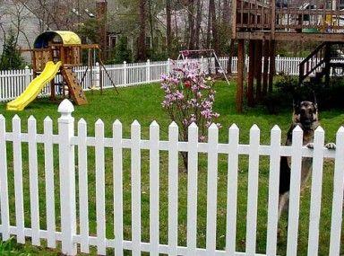 Glamorous Veranda Vinyl Picket Fence Installation And