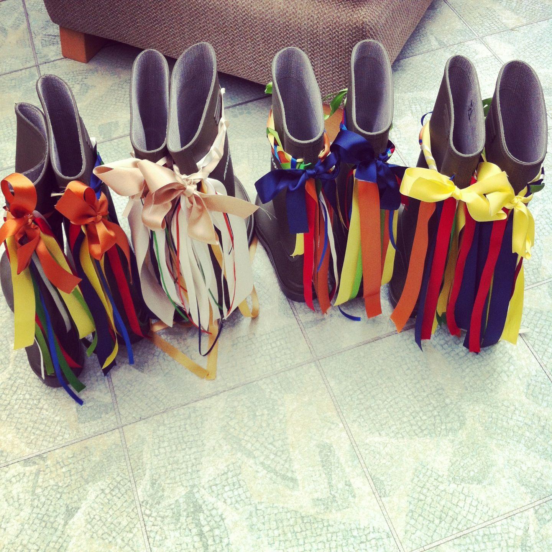 Bridal Shoes Yorkshire: #wellies #wedding #yorkshire #pretty #bridesmaids #bride