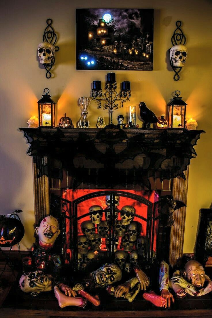 Pin by Cassandra Batista on Halloween Pinterest Decoration - Spooky Halloween Decorations