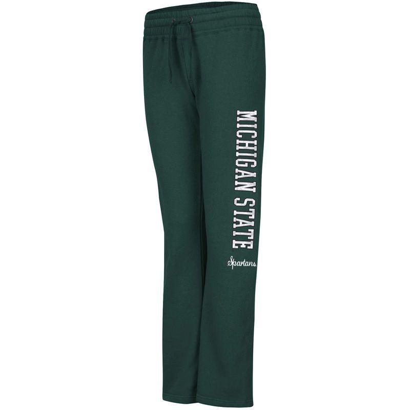 Michigan State Spartans Women's Acadia Fleece Sweatpants – Green