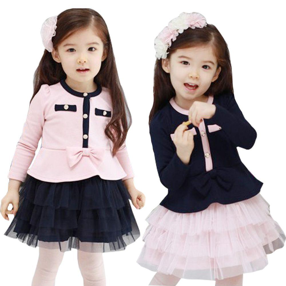 lo mas nuevo en vestidos para niñas de 8 años Nuevos niños de invierno para