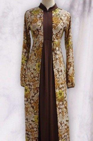 Model Baju Batik Kerja Wanita Muslimah Wanita Model Dan Gaun