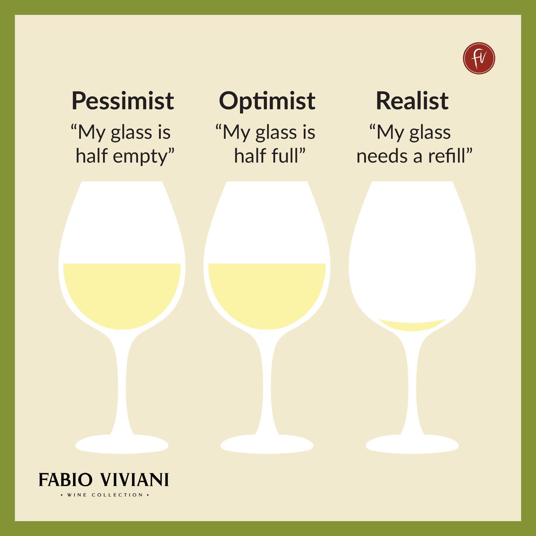 Pessimist Optimist Realist Wine Joke Wine Jokes Wine Quotes Wine Puns