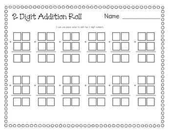 2 digit addition math 1st grade math math elementary math. Black Bedroom Furniture Sets. Home Design Ideas