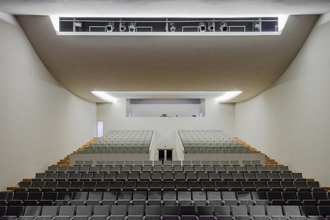 Alvaro Siza presents architecture for public auditorium in Catalonia | See more articles at http://www.delightfull.eu/en/news/