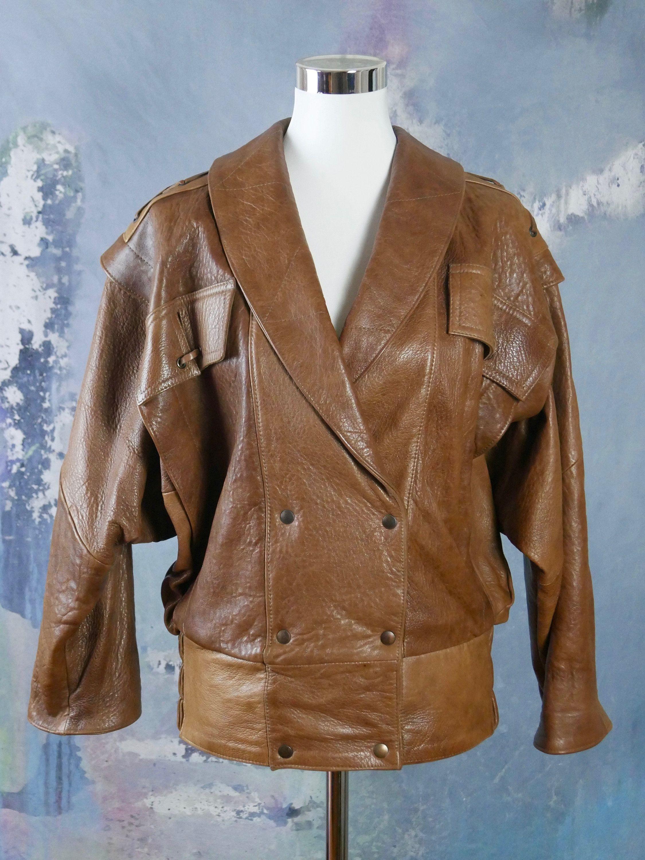 1980s Brown Faux Leather Jacket European Vintage Vegan Etsy Brown Faux Leather Jacket Faux Leather Jackets Leather Jacket [ 3000 x 2250 Pixel ]