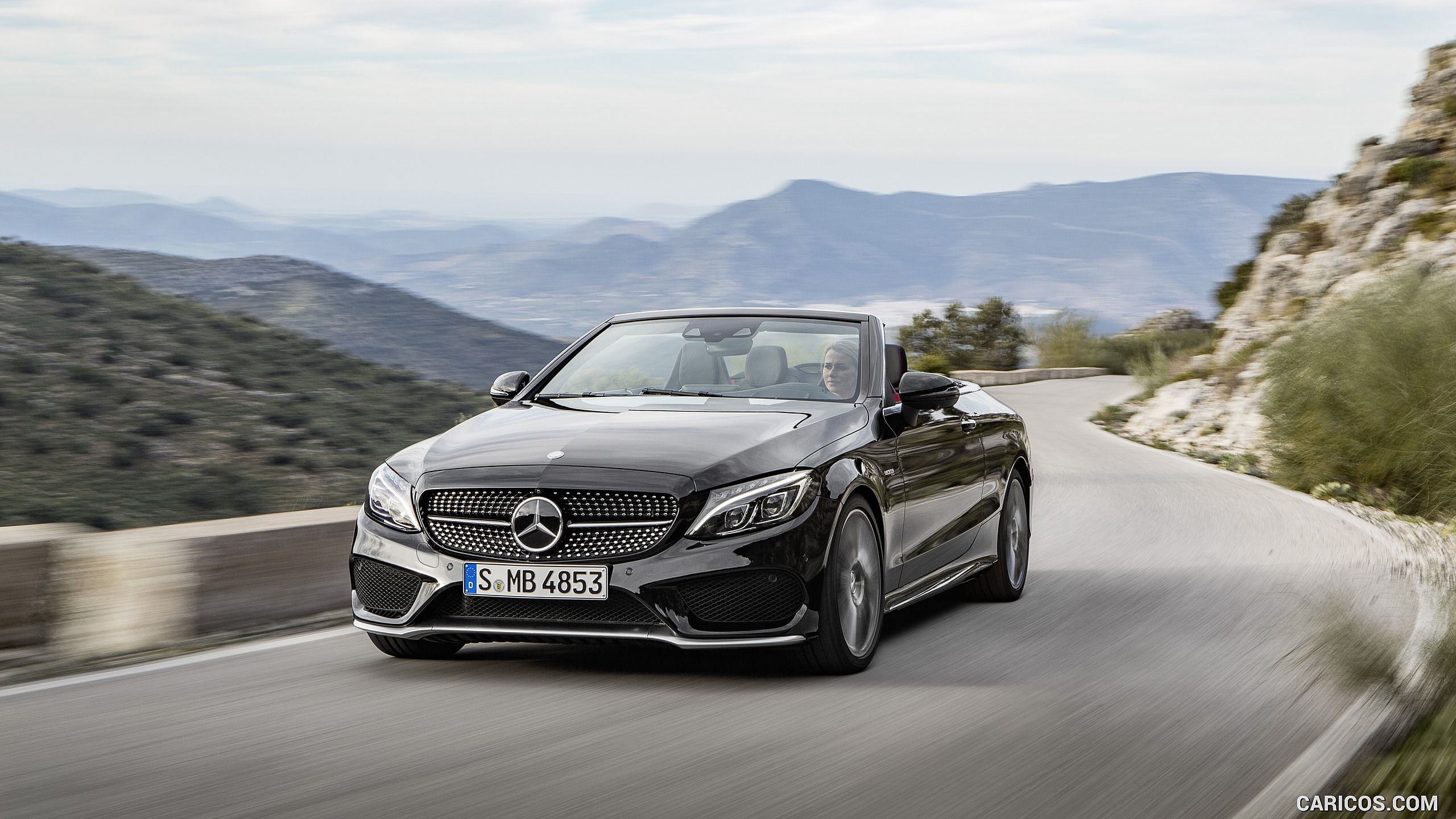 2017 mercedes amg c43 cabriolet wallpaper