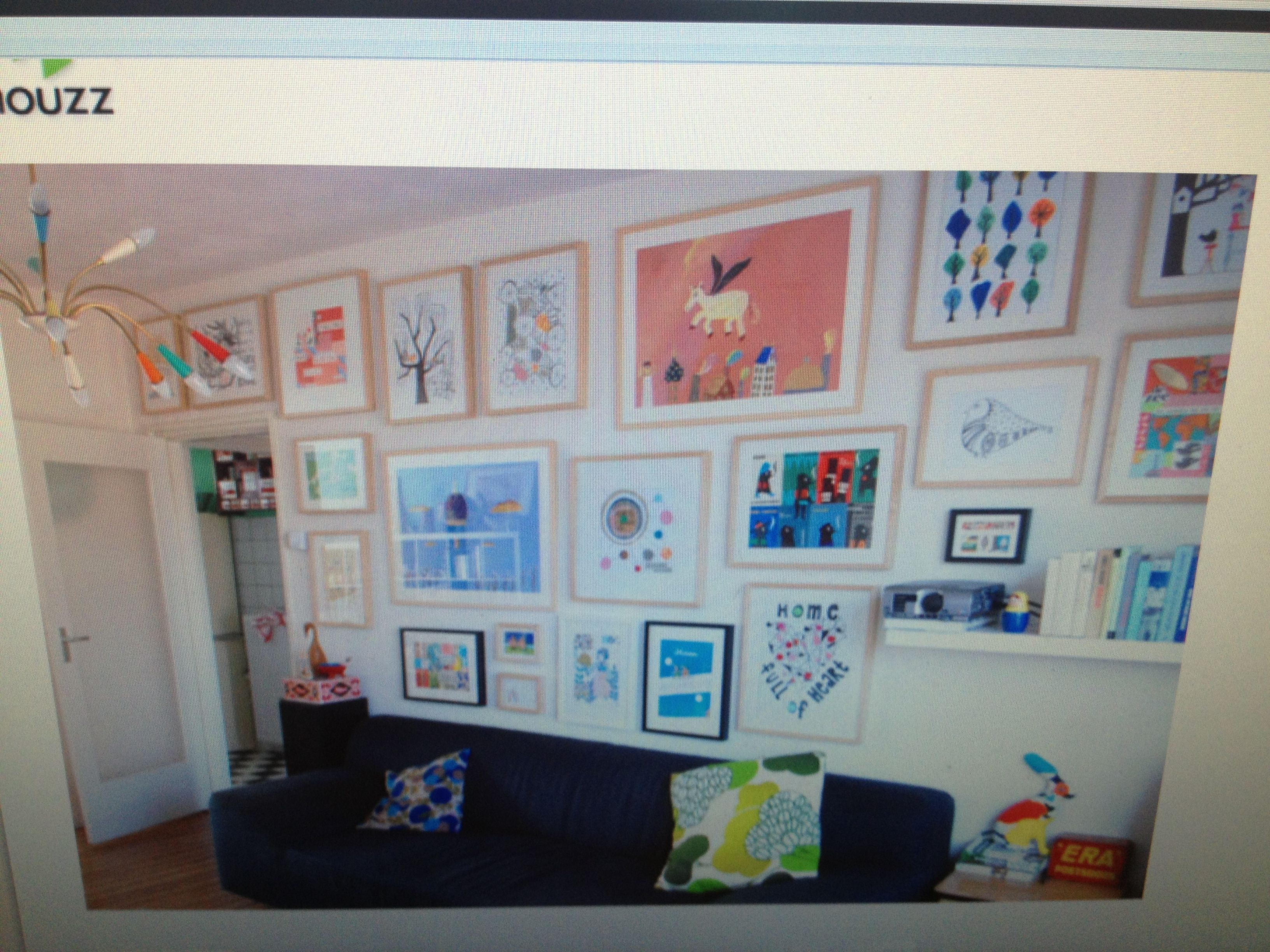 Formal Living Room Alternative - Kids Art