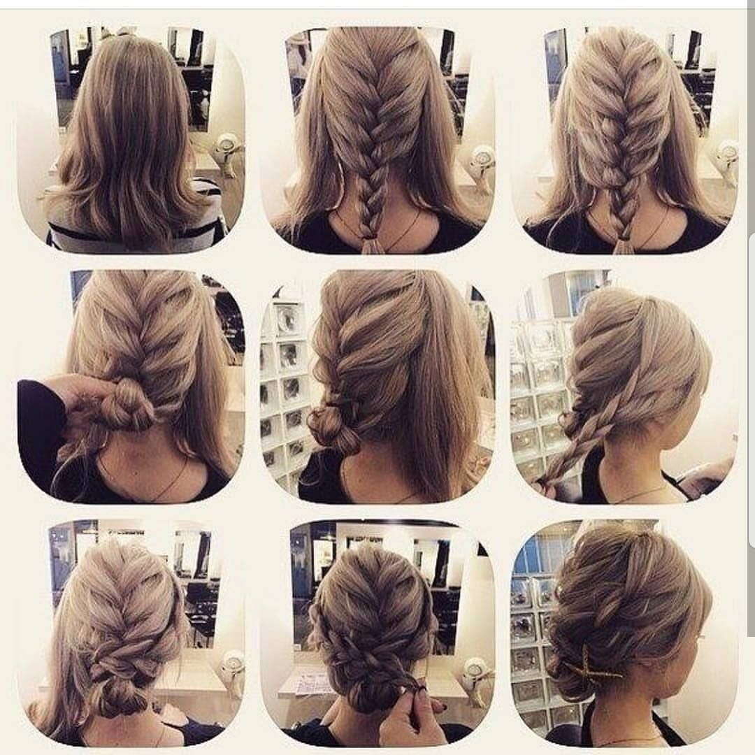 I M In Love With Gorgeous Updo Suits Any Occasion Follow The Steps Carefully And Send Me A Picture Of The R Hair Styles Long Hair Styles Shoulder Length Hair