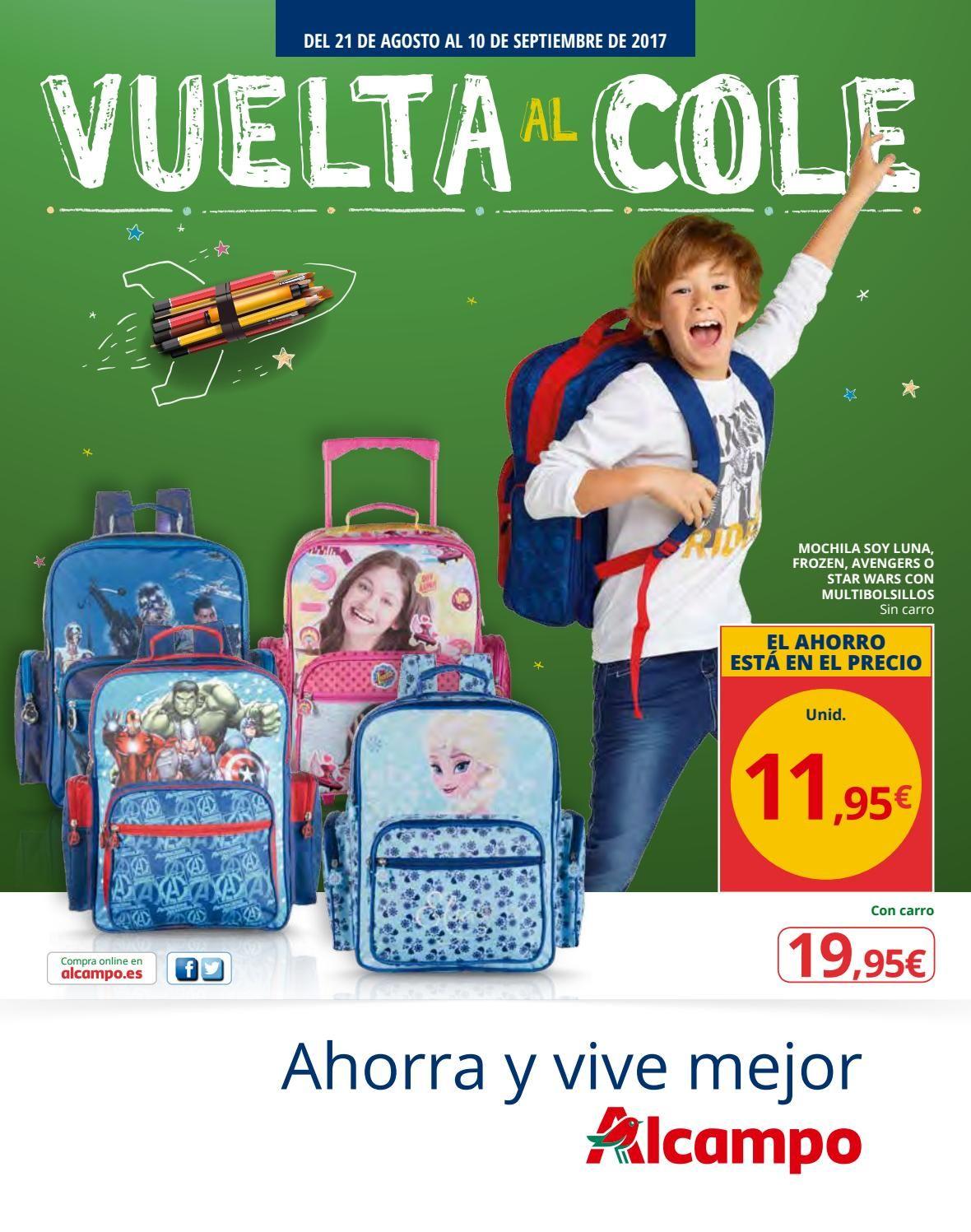 Vuelta Al Cole En Alcampo Back To School School