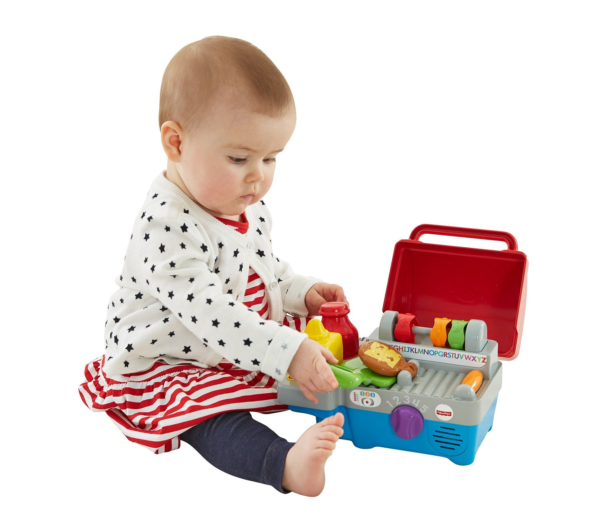 Fisherprice laugh learn smart stages grill includes
