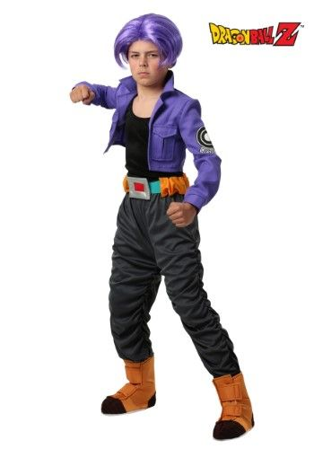 Dragon Ball Z Trunks Costume For Kids Boy S Size Small 6 Kids Costumes Halloween Party Costumes Costumes
