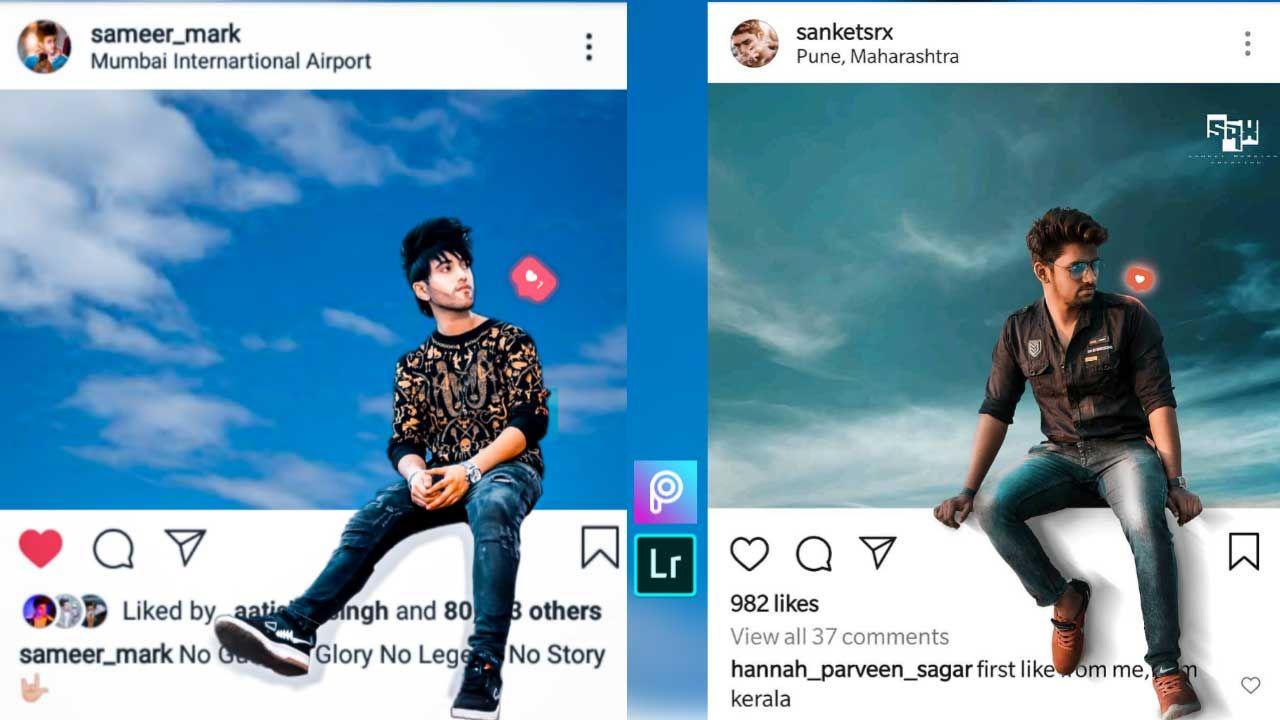3d Instagram Instagram Viral 3d Photo Frame Effect Picsart Viral Photo Editing In 2020 Photo Editing Instagram Photo Frame Photo Frames Effects