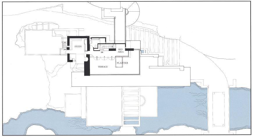 Ad Classics Fallingwater House Frank Lloyd Wright