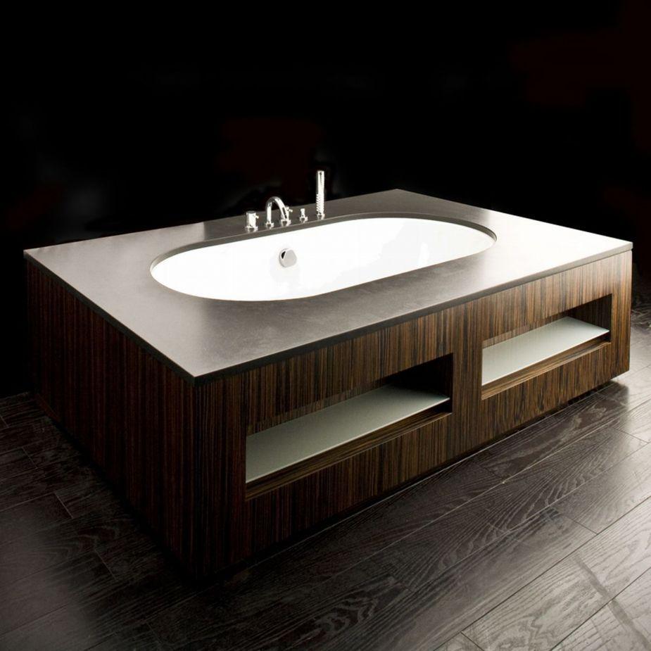 Erfrischen Sie Sich, Das Aufregende Design Einer Bezaubernden Holz  Waschbecken   Keramik Becken,