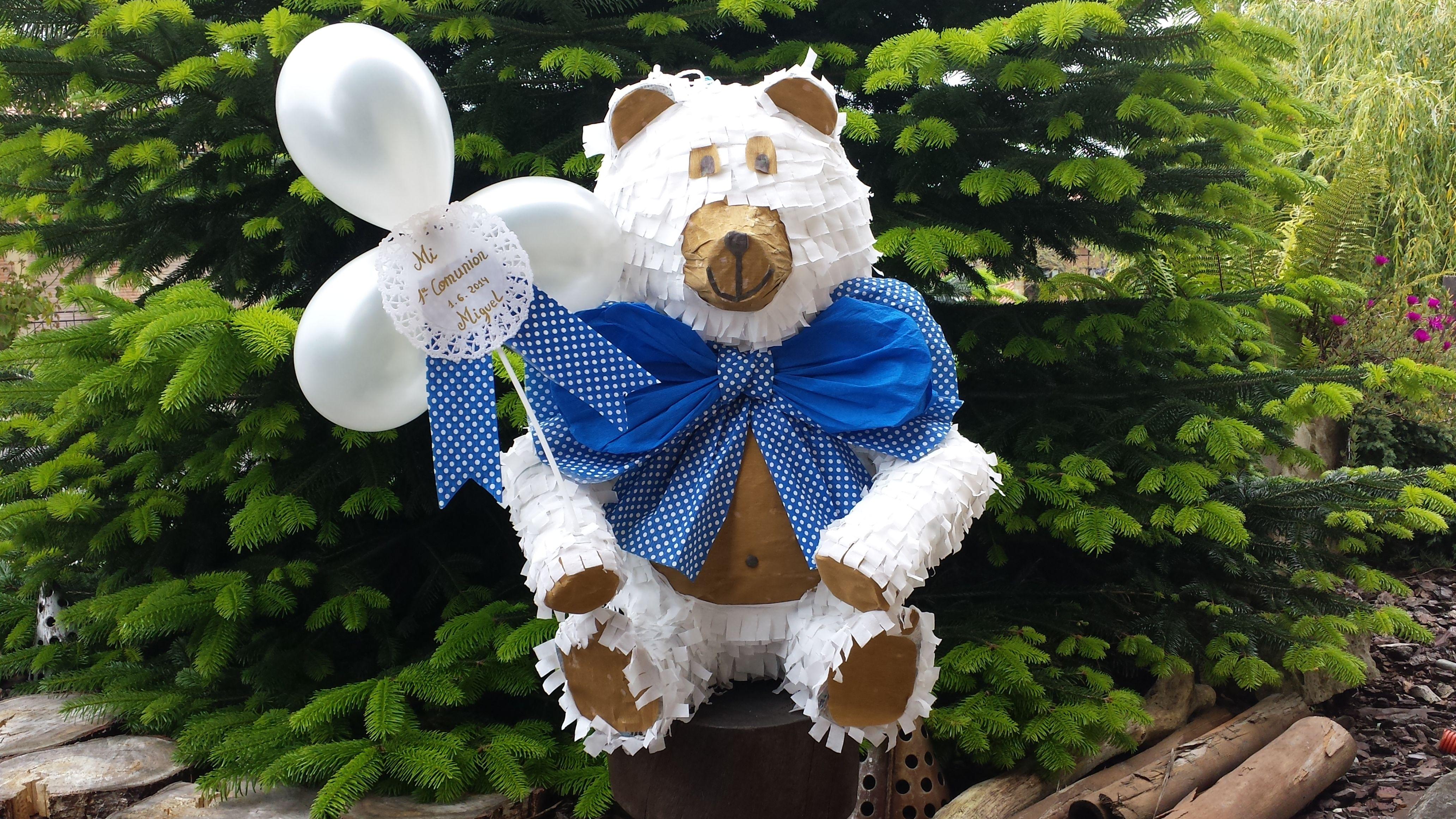 Piñata bear, comunion
